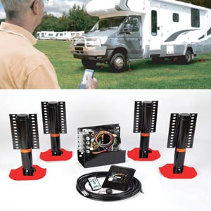 RedFoot Leveling Systems for Caravans and Motorhomes